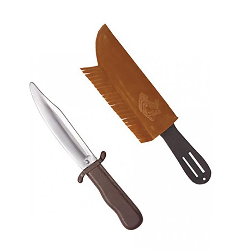 Cuchillo indio con funda