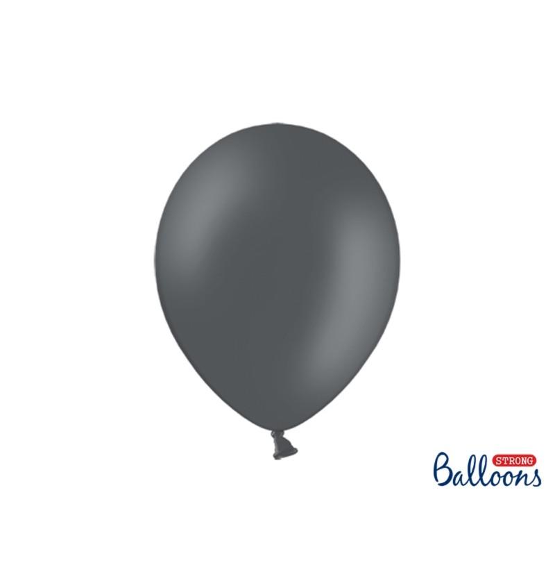 Set de 50 globos extra resistentes gris