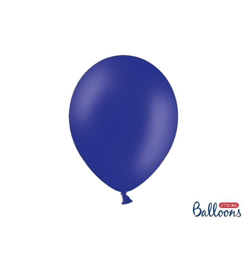 Set de 50 globos extra resistentes azul eléctrico