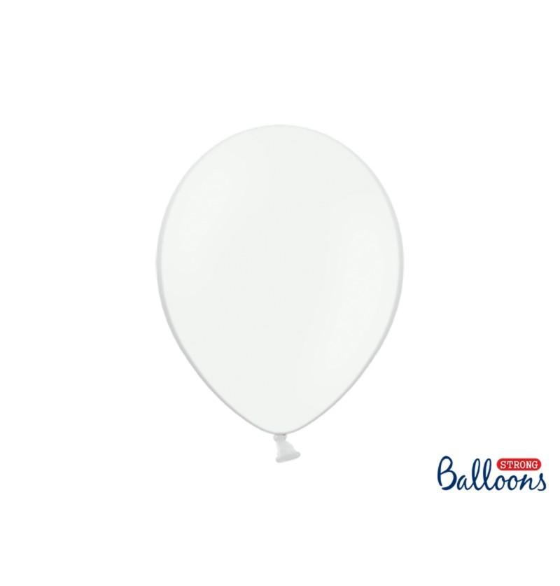 Set de 50 globos extra resistentes blanco