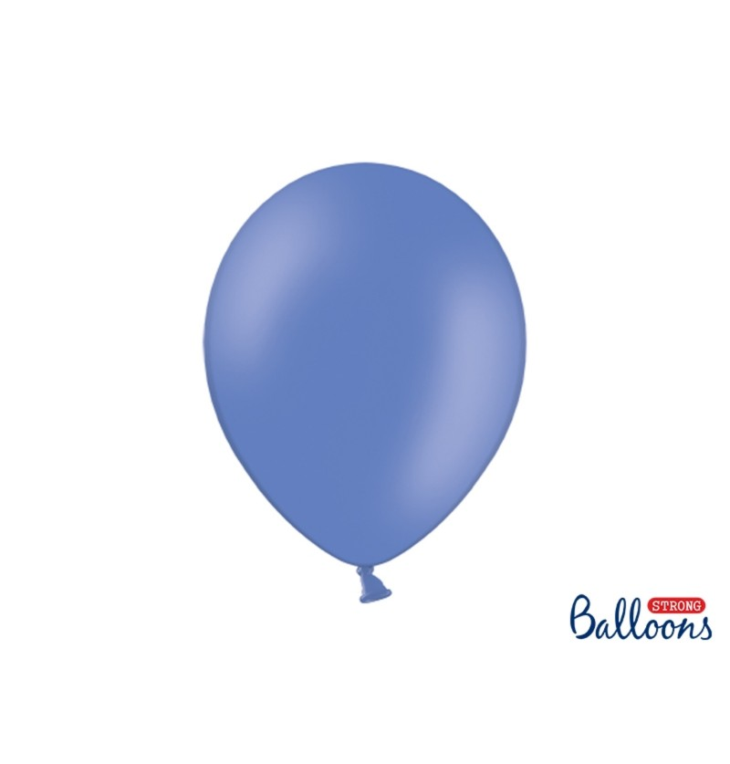 Set de 100 globos extra resistentes azul marengo
