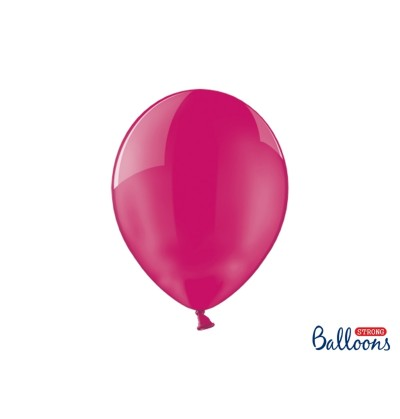 Set de 100 globos extra resistentes rosa cristalizado