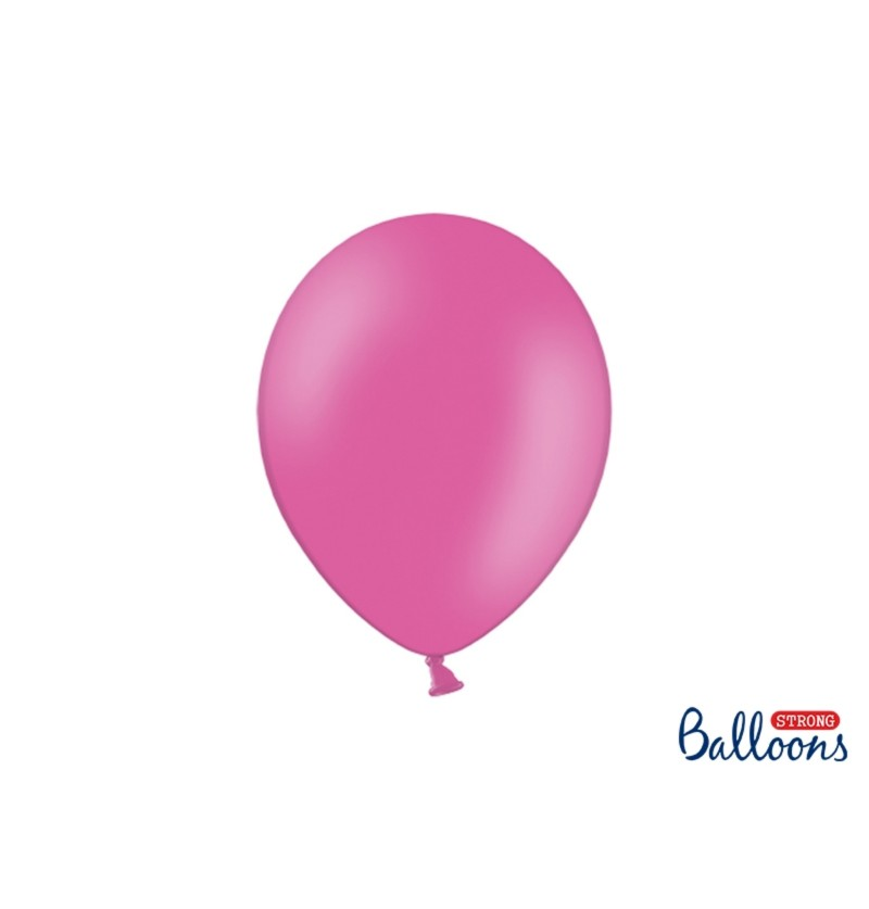 Set de 50 globos extra resistentes 27 cm rosa pastel