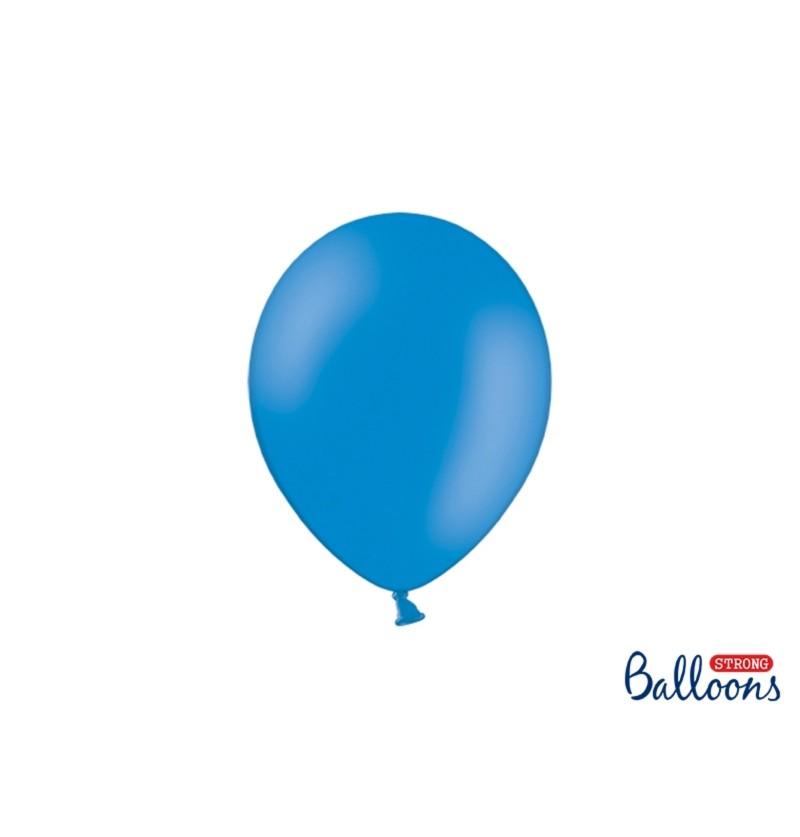 Set de 50 globos extra resistentes extra resistentes 23 cm azul semiclaro metalizado