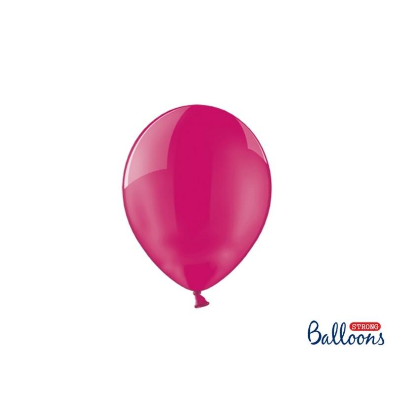 Set de 100 globos extra resistentes 23 cm rosa