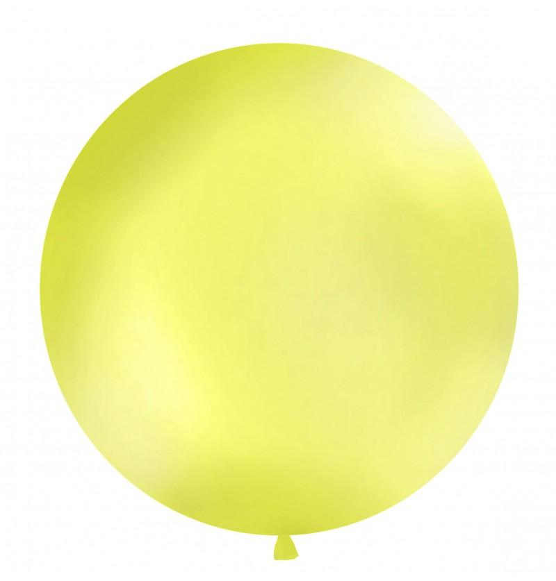 Globo gigante verde manzana metalizado