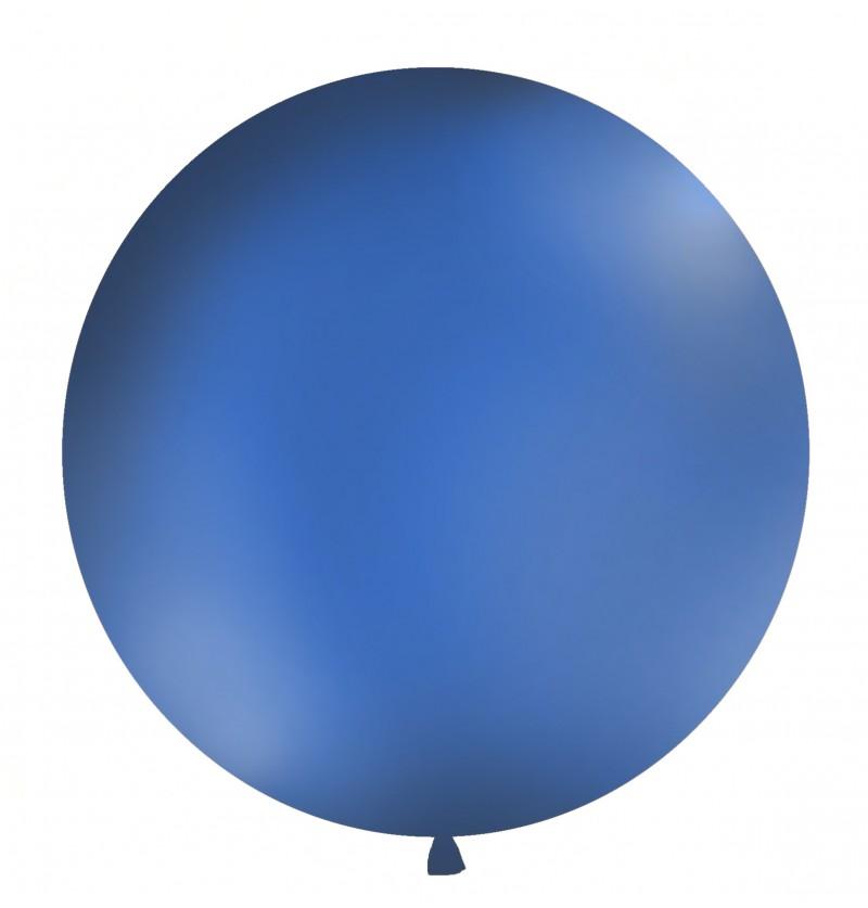 Globo gigante azul marino pastel