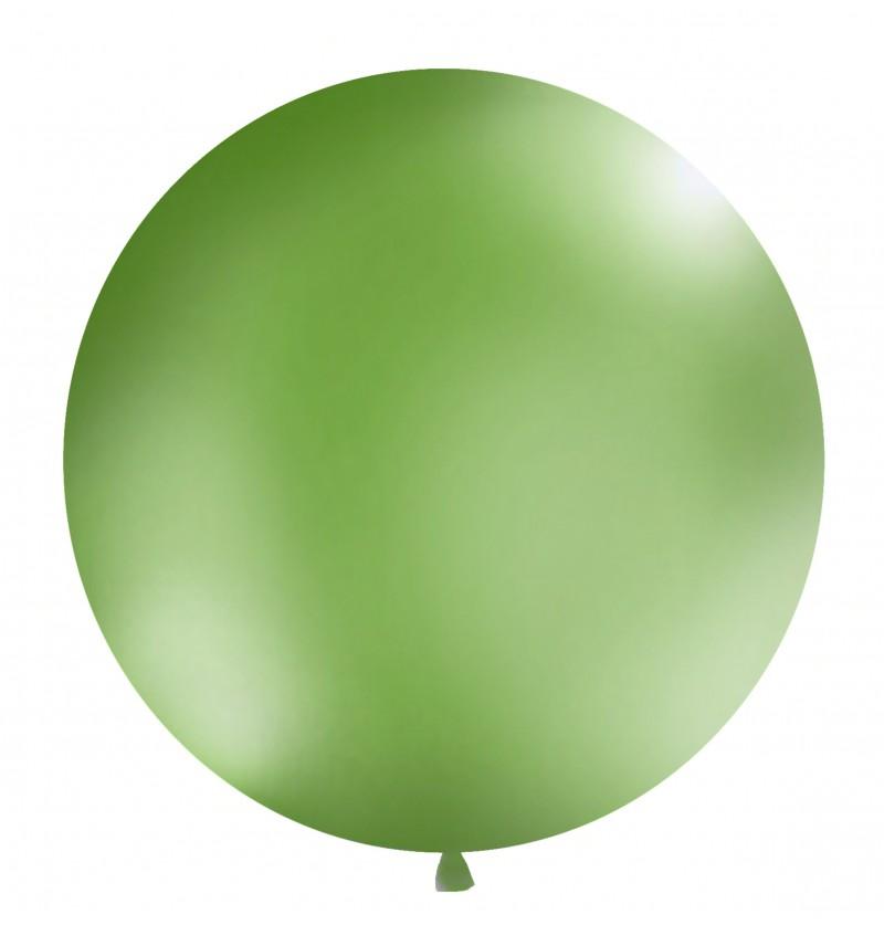 Globo gigante verde pastel