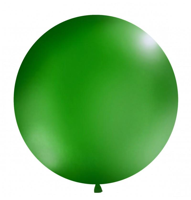 Globo gigante verde oscuro pastel
