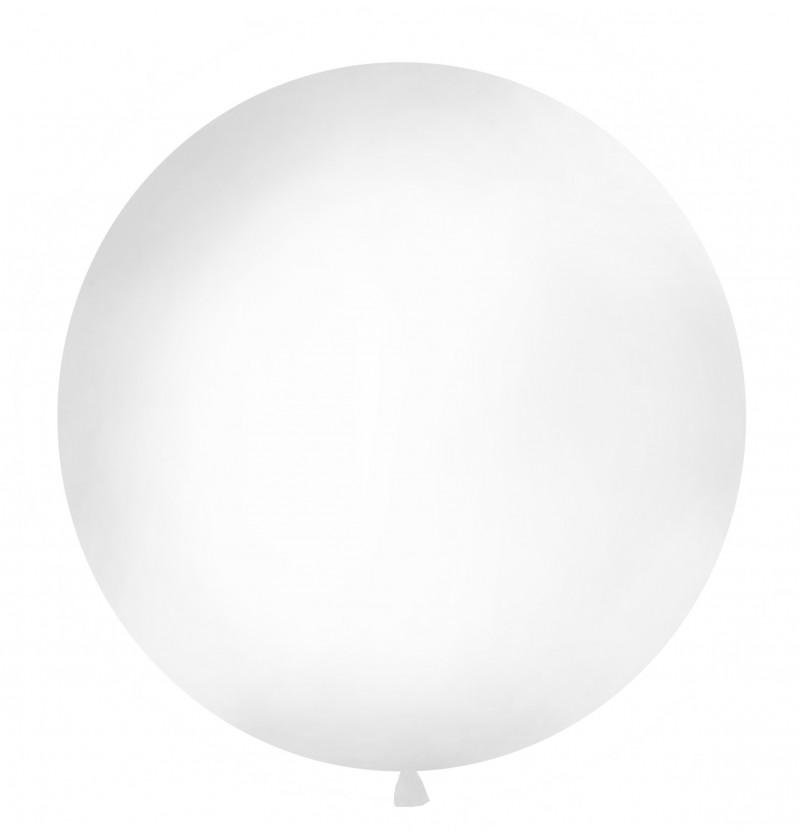 Globo gigante blanco pastel