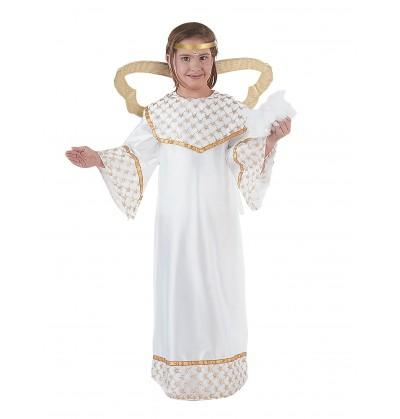 Disfraz De Angel Dorado Nina - Disfraz-angel-nia