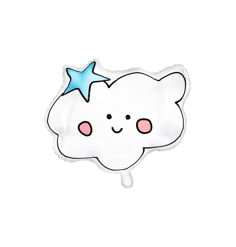 Globo de foil nube