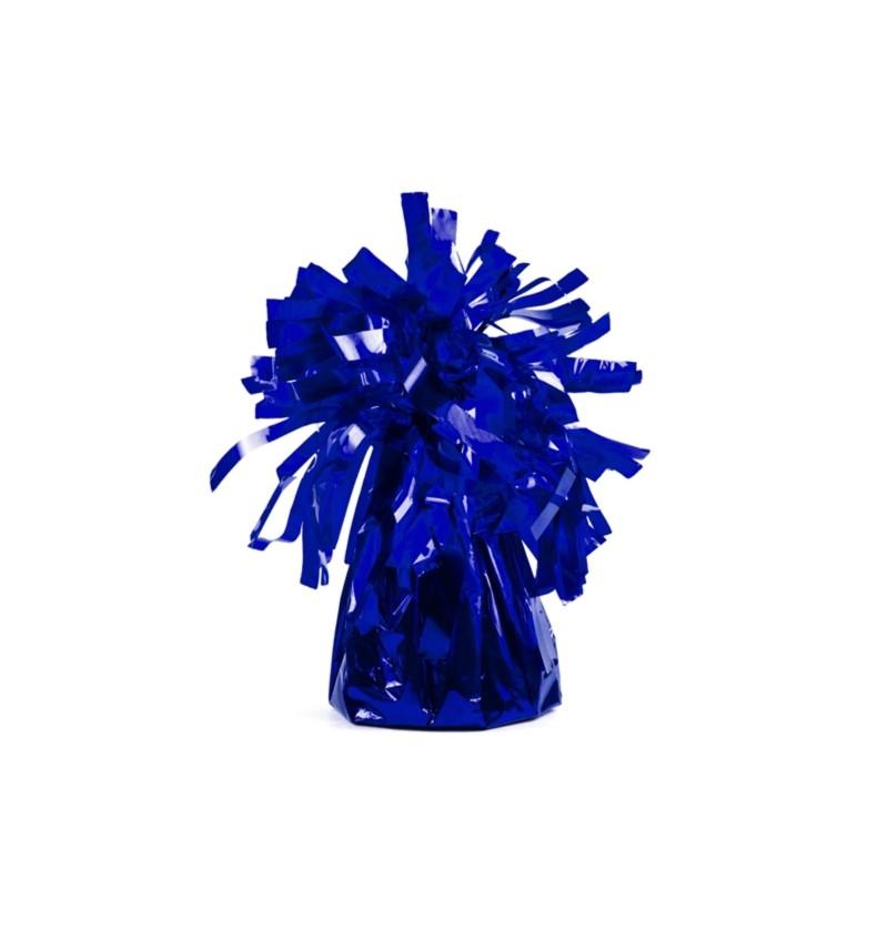 Peso para globos de color azul eléctrico