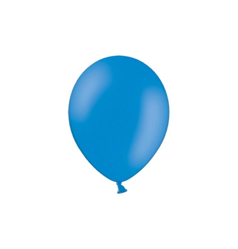 Set de 100 globos color azul oscuro de 29 cm