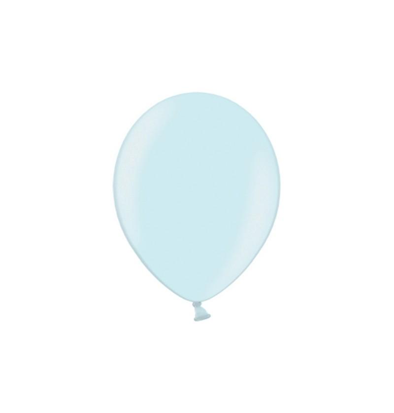 Set de 100 globos color azul cielo de 29 cm