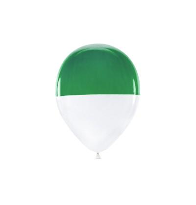 Set de 7 globos bicolores surtidos