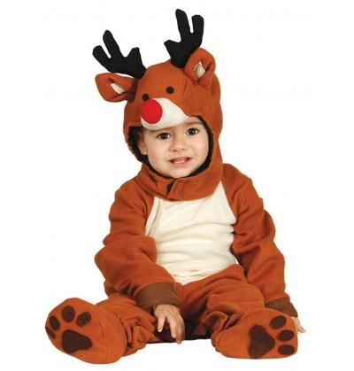 disfraz de reno adorable para beb