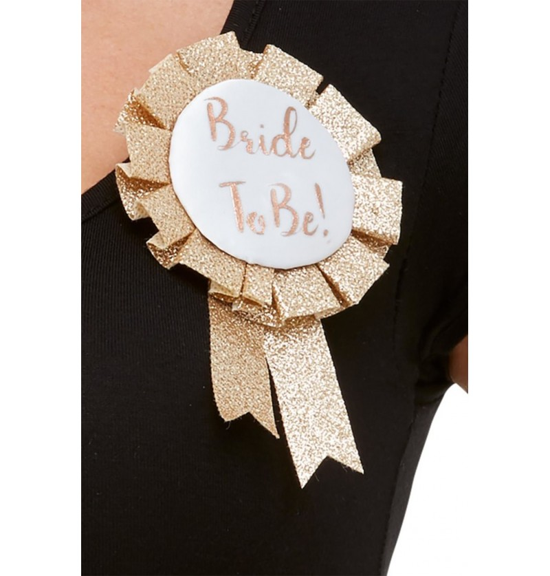 """Banda """"Bride to Be"""" oro rosa para mujer"""