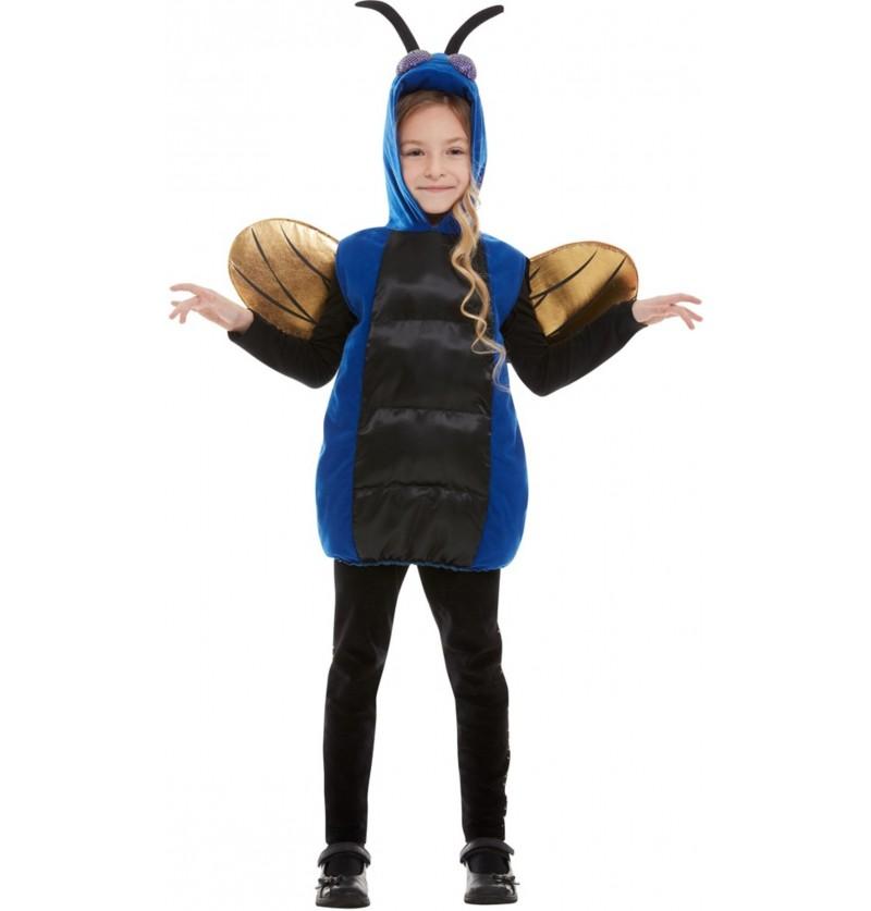 Disfraz de mosca para niña