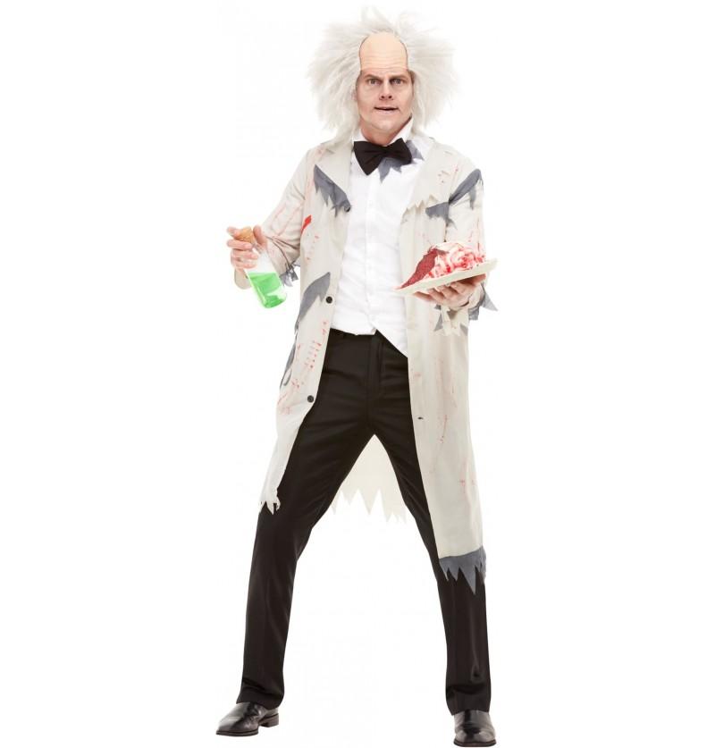 Disfraz de científico chiflado para hombre