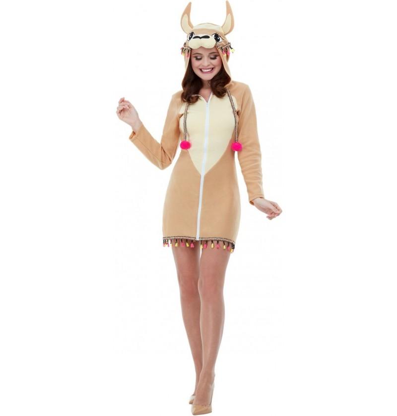 Disfraz de Llama para mujer