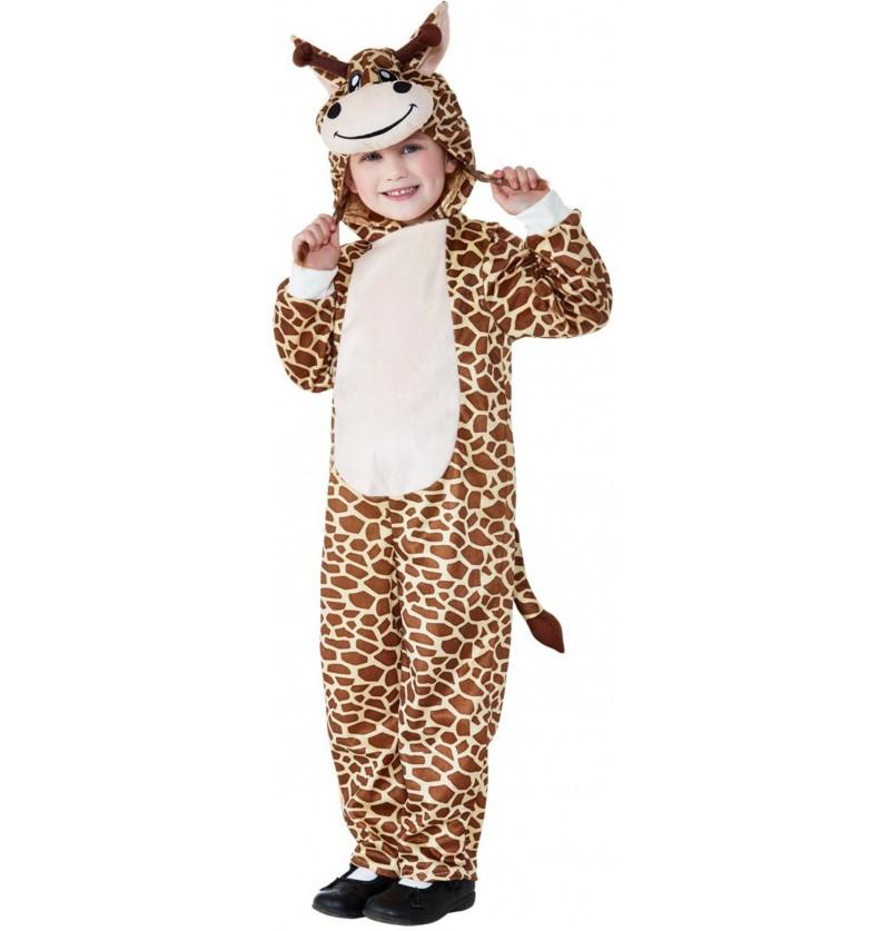 Disfraz de jirafa simpática infantil