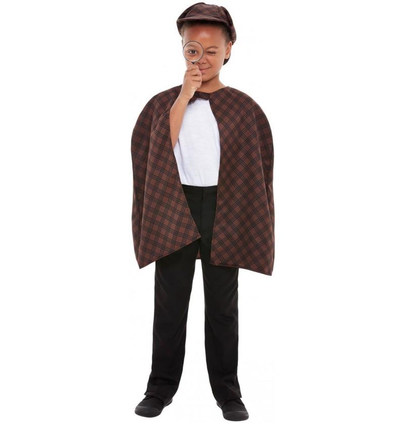 Disfraz de detective infantil