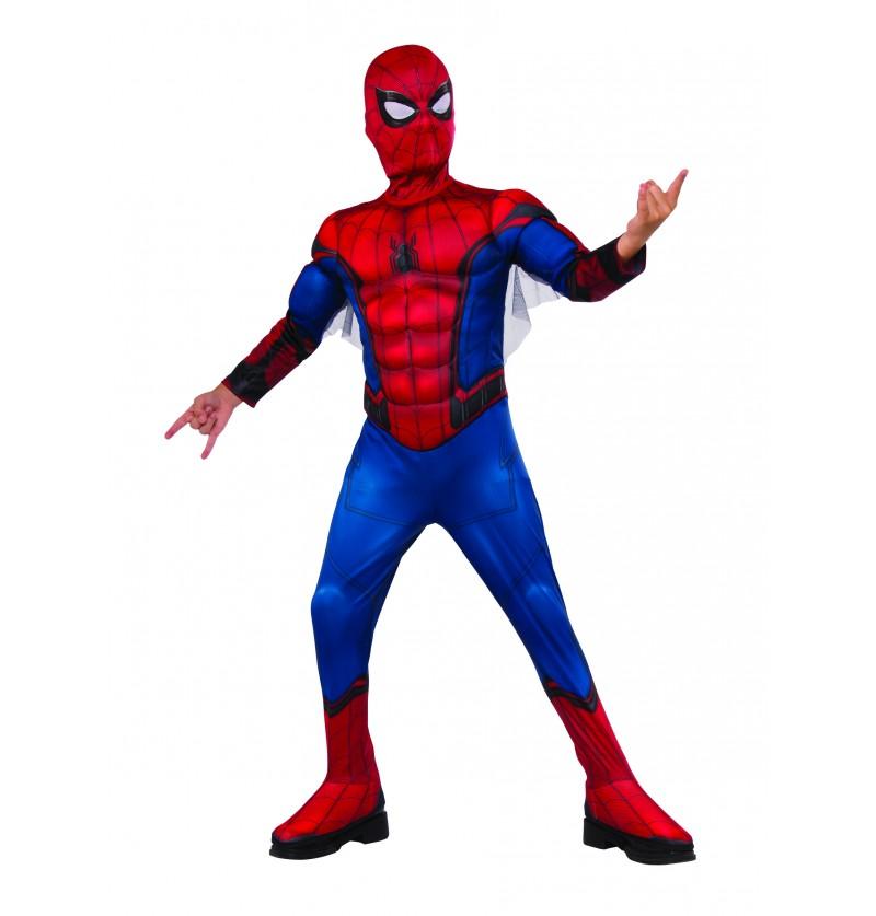 disfraz de spiderman homecoming deluxe para nio