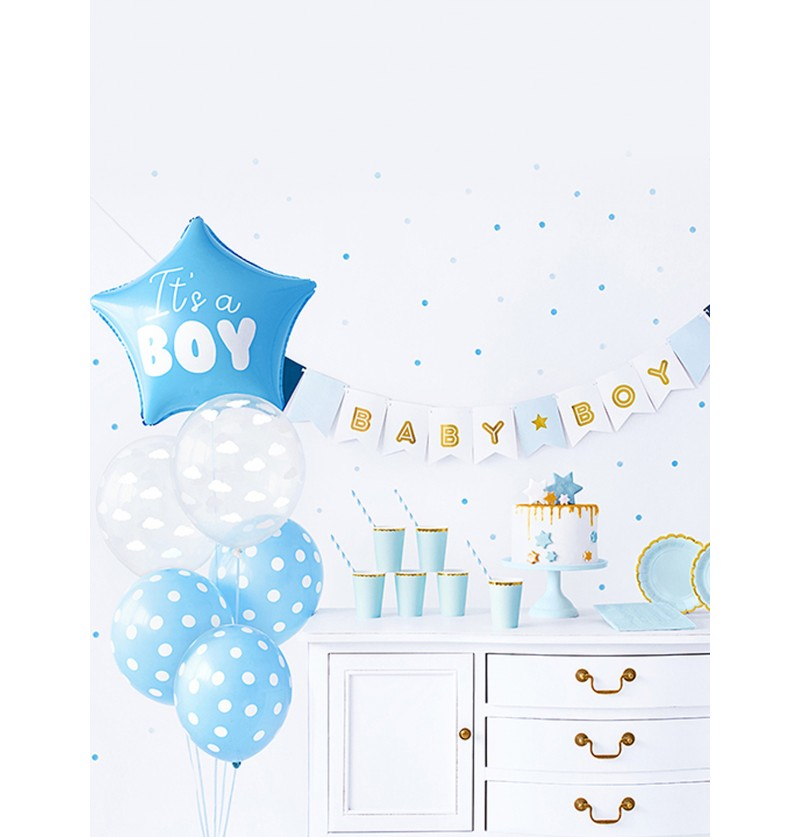 set de decoracin it s a boy baby shower party