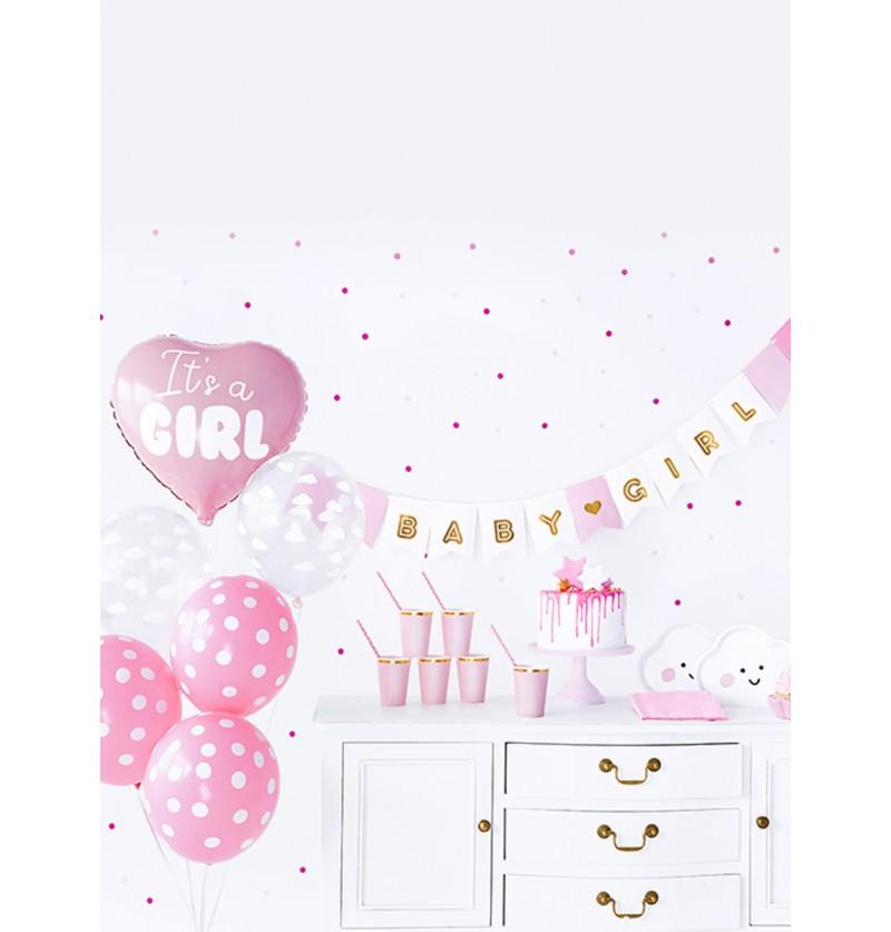 set de decoracin it s a girl baby shower party