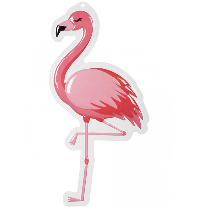 decoracin colgante de flamenco flamingo party