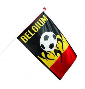 bandera futbolera de blgica