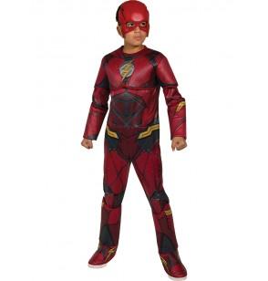 disfraz de flash la liga de la justicia premium para nio