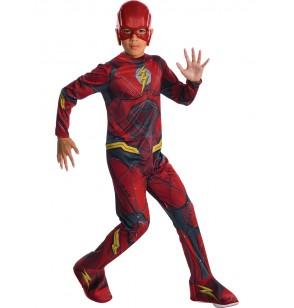 disfraz de flash la liga de la justicia classic para nio