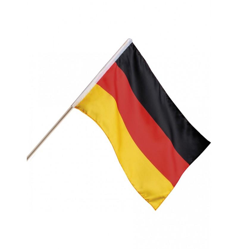 Bandera de mano Alemania