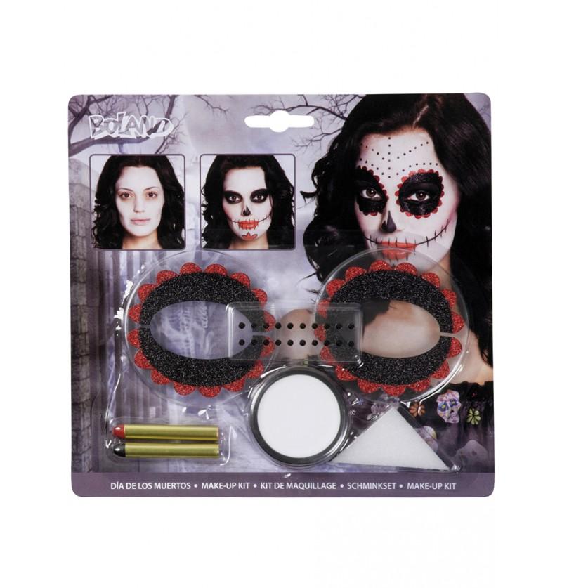 Set de maquillaje Catrina para adulto