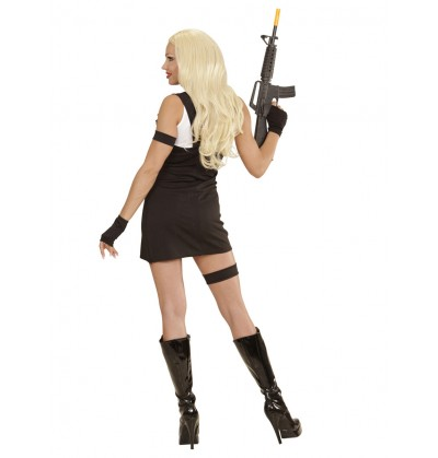 disfraz de polica swat para mujer