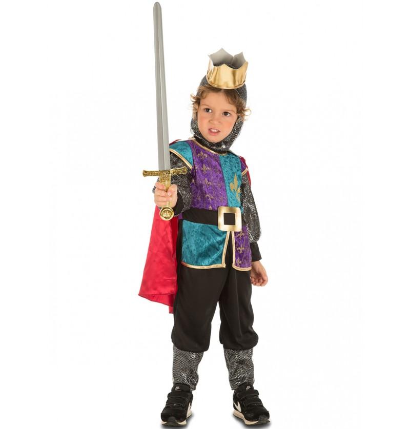 disfraz de caballero coqueto infantil
