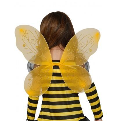alas de abejita amarilla para nia
