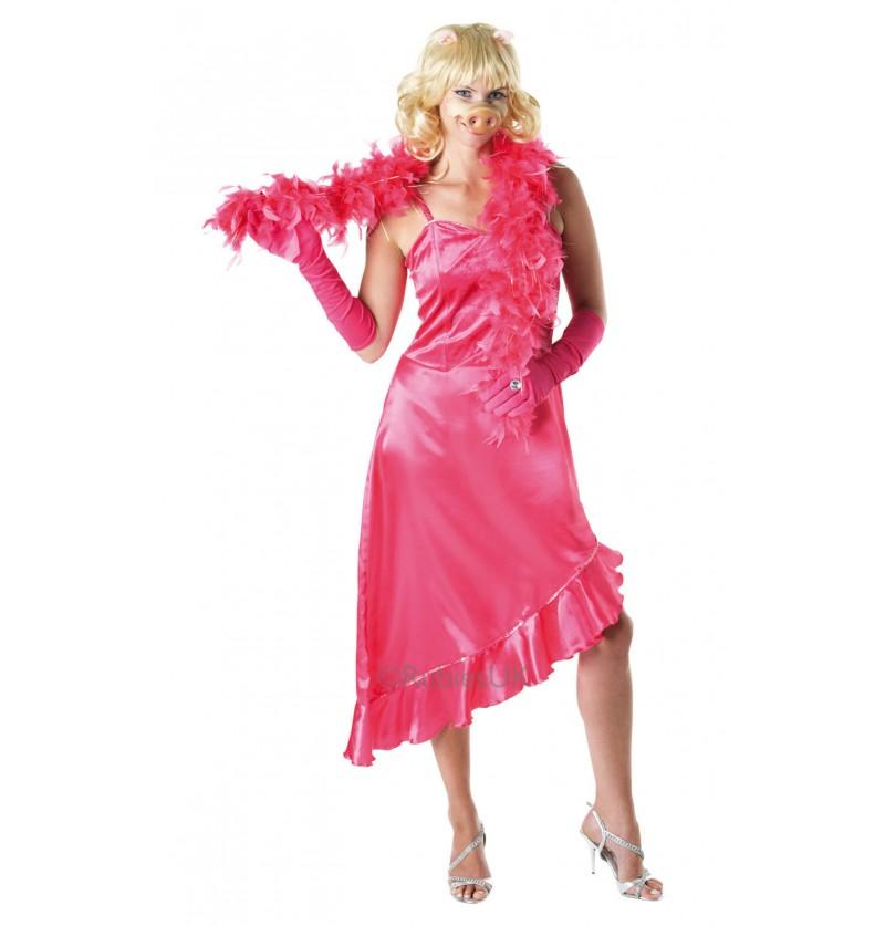 Disfraz de Cerdita Peggy para mujer - Barrio Sésamo