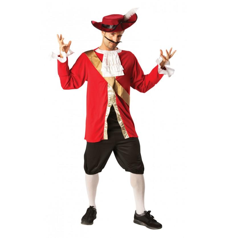 Disfraz de Capitán Garfio para hombre