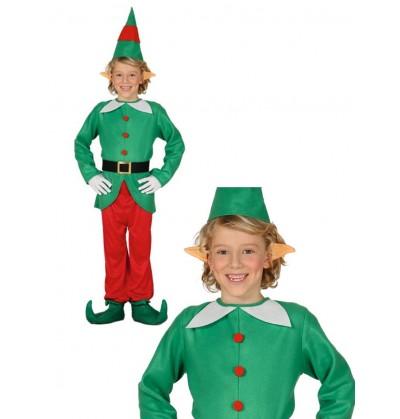disfraz de elfo divertido para nio