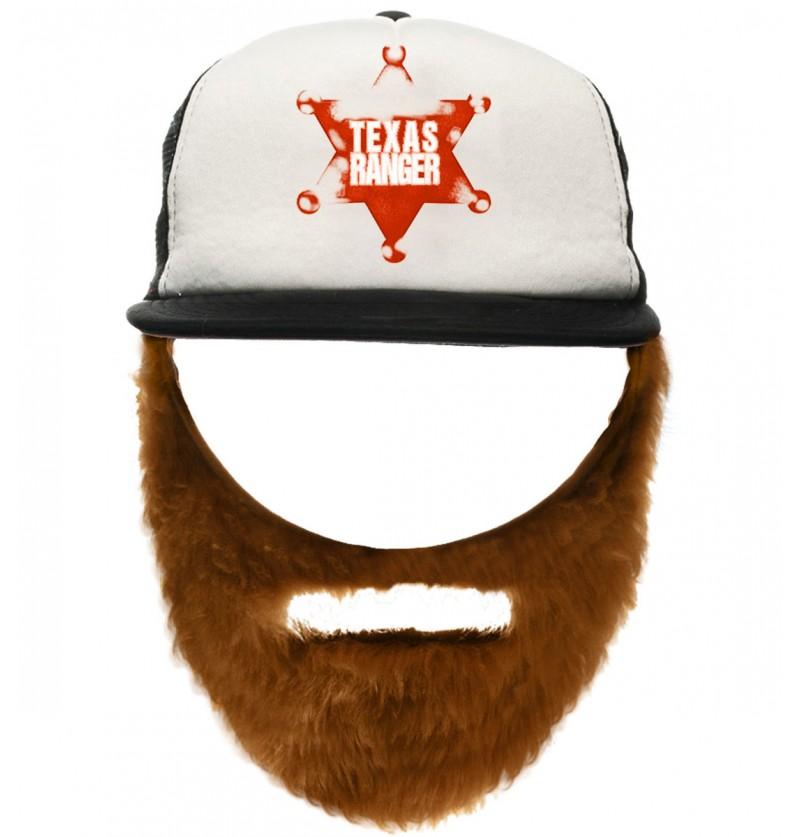 Gorra de Chuck con barba para adulto
