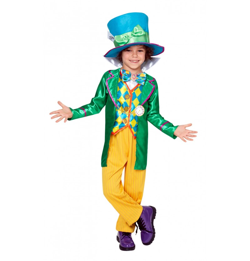 Disfraz de Sombrerero loco para niño - Alicia en el País de las ...