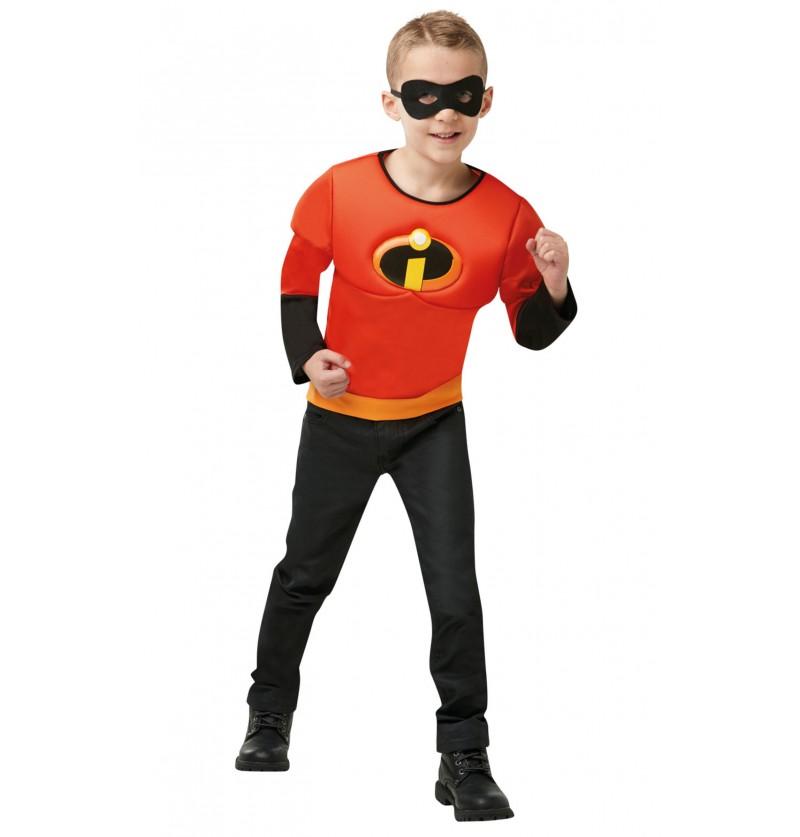 Kit disfraz de Dash para niño - Los Increíbles 2