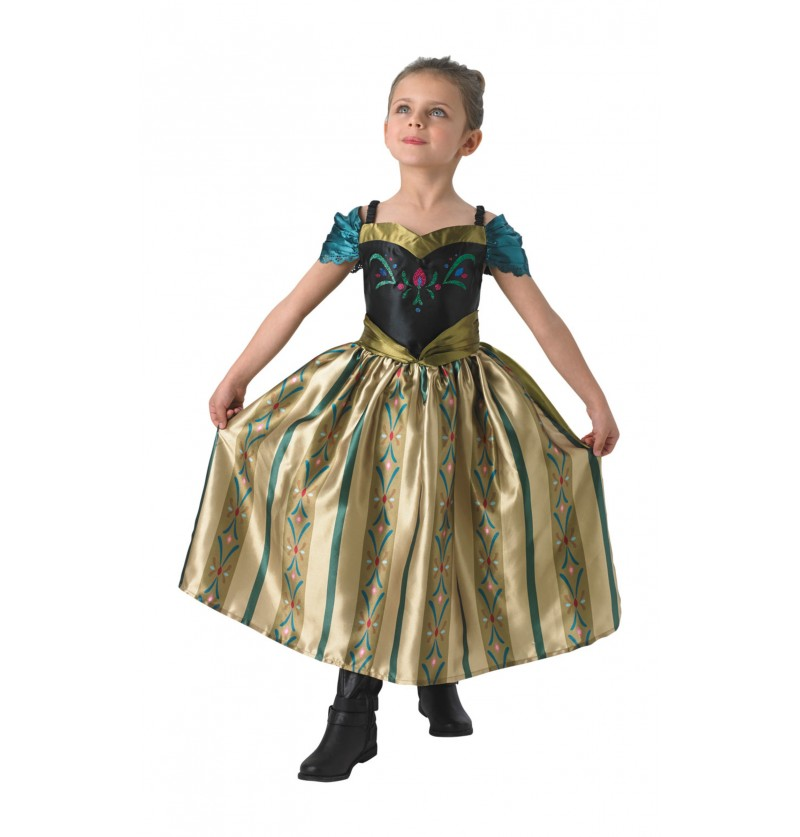 Disfraz de Anna Frozen Coronación para niña - Frozen
