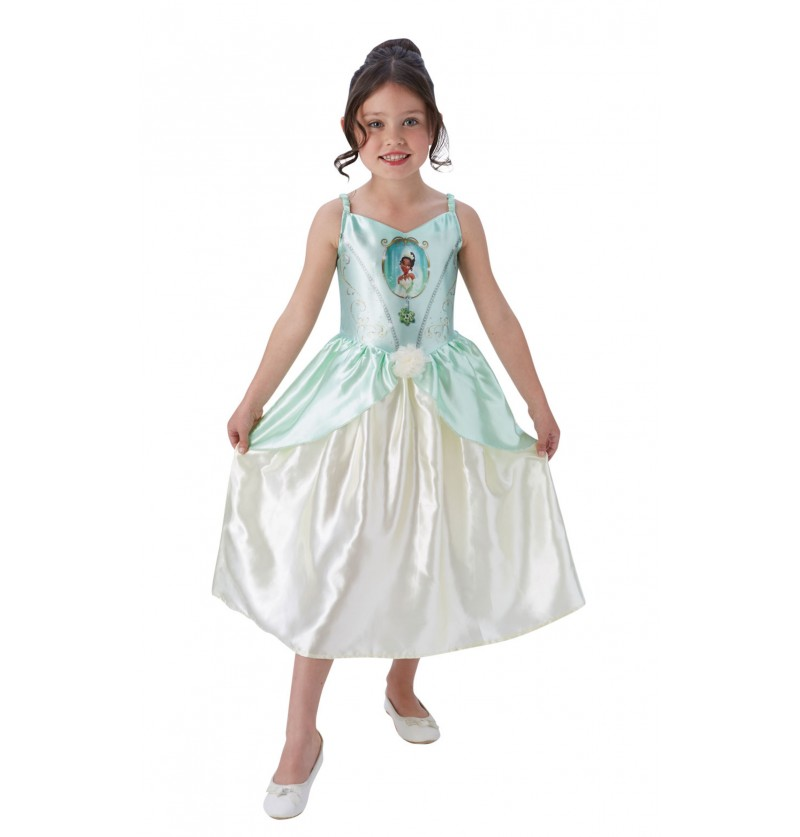 Disfraz de Tiana para niña - Tiana y el Sapo