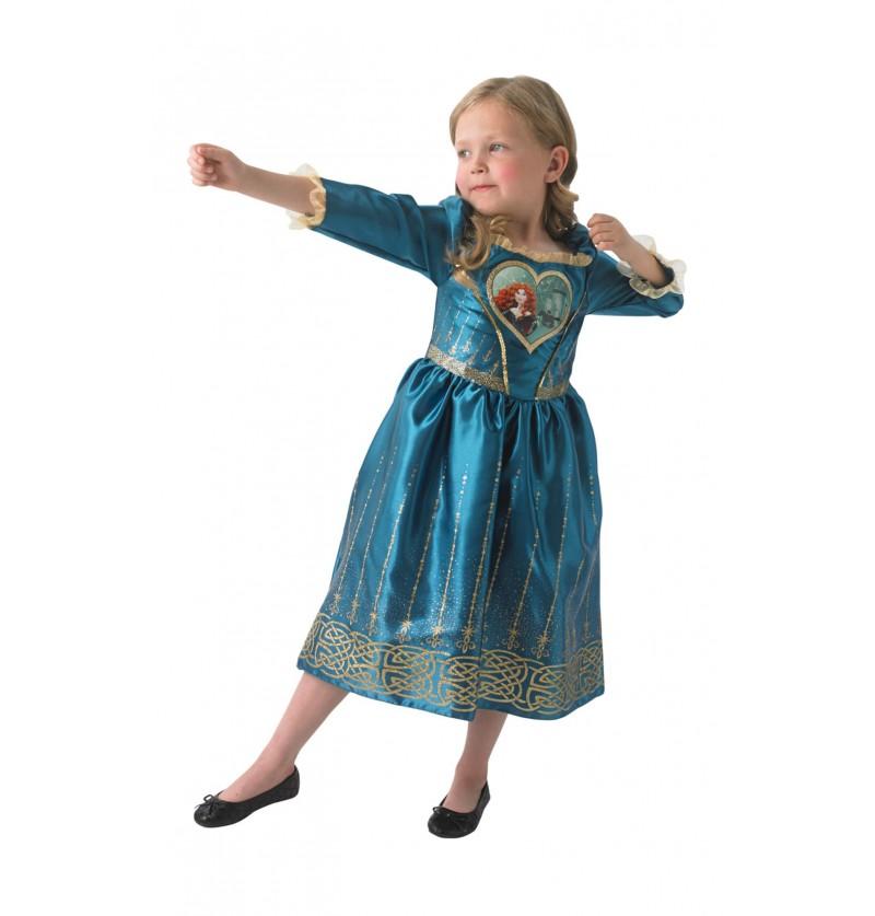 Disfraz de Mérida Loveheart para niña