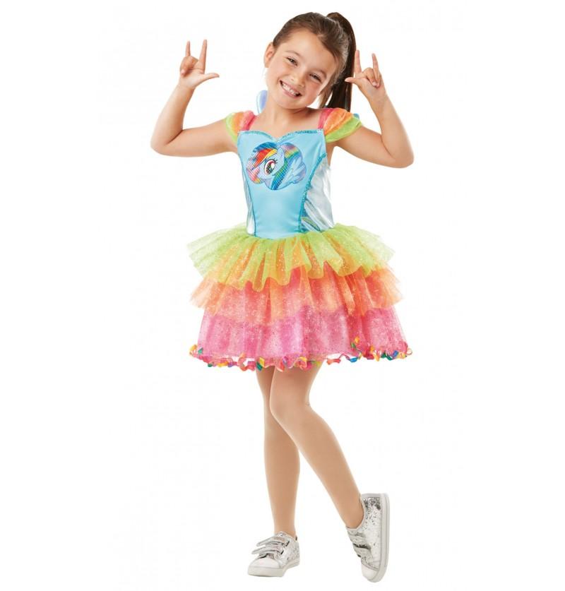 Disfraz de Rainbow Dash para niña - Mi Pequeño Pony