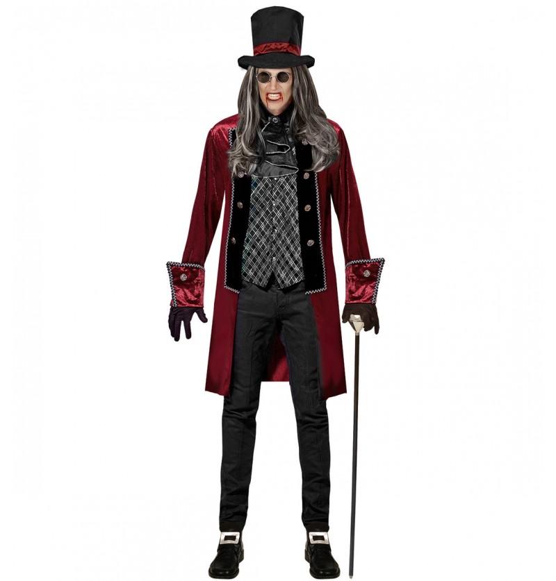 Disfraz de vampiro victoriano elegante para hombre